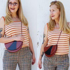 Vintage Knit Striped Top (L)